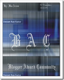 Blogger-Award-Comunity